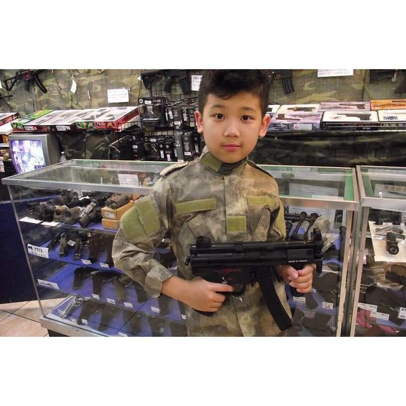 Taktische Kinder Camouflage Sport Anzug Die Spezielle Tarnung 2-teilige Anzug Set Für Kinder Kinder Whosale Sportbekleidung