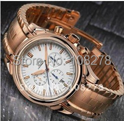 Free shipping new fashion Best gift men's luxury automatic stainless steel fashion watch(14022)