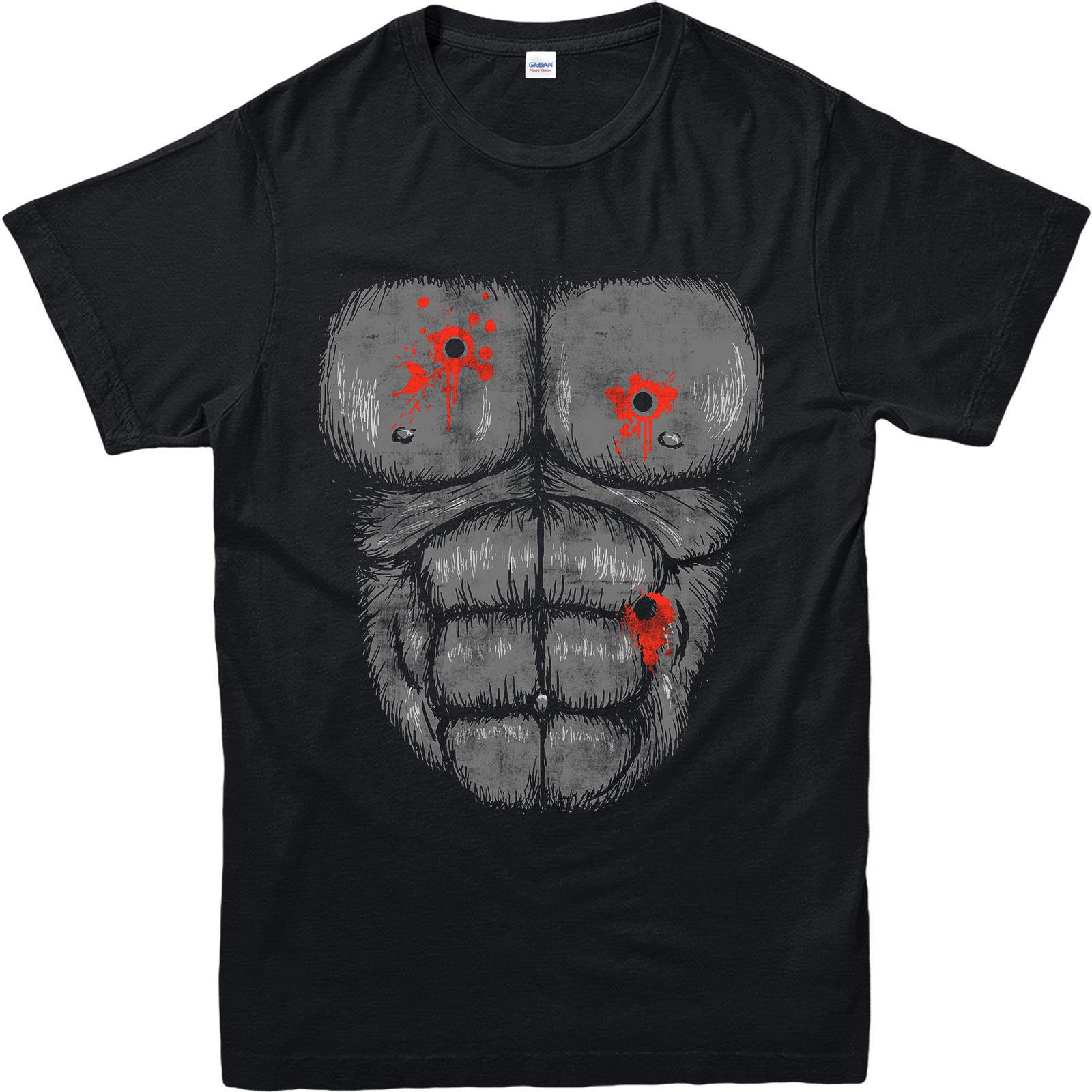Предоставляет футболка, предоставляет выстрел РАН, вдохновленный Дизайн Топ (hbhsw)