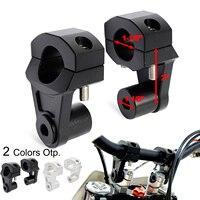 1 1/8 28mm Handlebar Riser Clamp Mount For KTM SX EXC EXCF XC 250 300 350 450 500 690 Enduro 990 1190 Adventure 1290 Super Adv