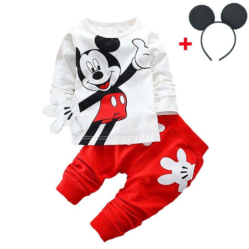 HTB1q rIX2jsK1Rjy1Xaq6zispXaf - Disney Mickey Minnie Frozen Xmas Baby Set Fashion Newborn Baby Cute Girl T-Shirts Pants Outfits Kids Tracksuits Jogging Suits