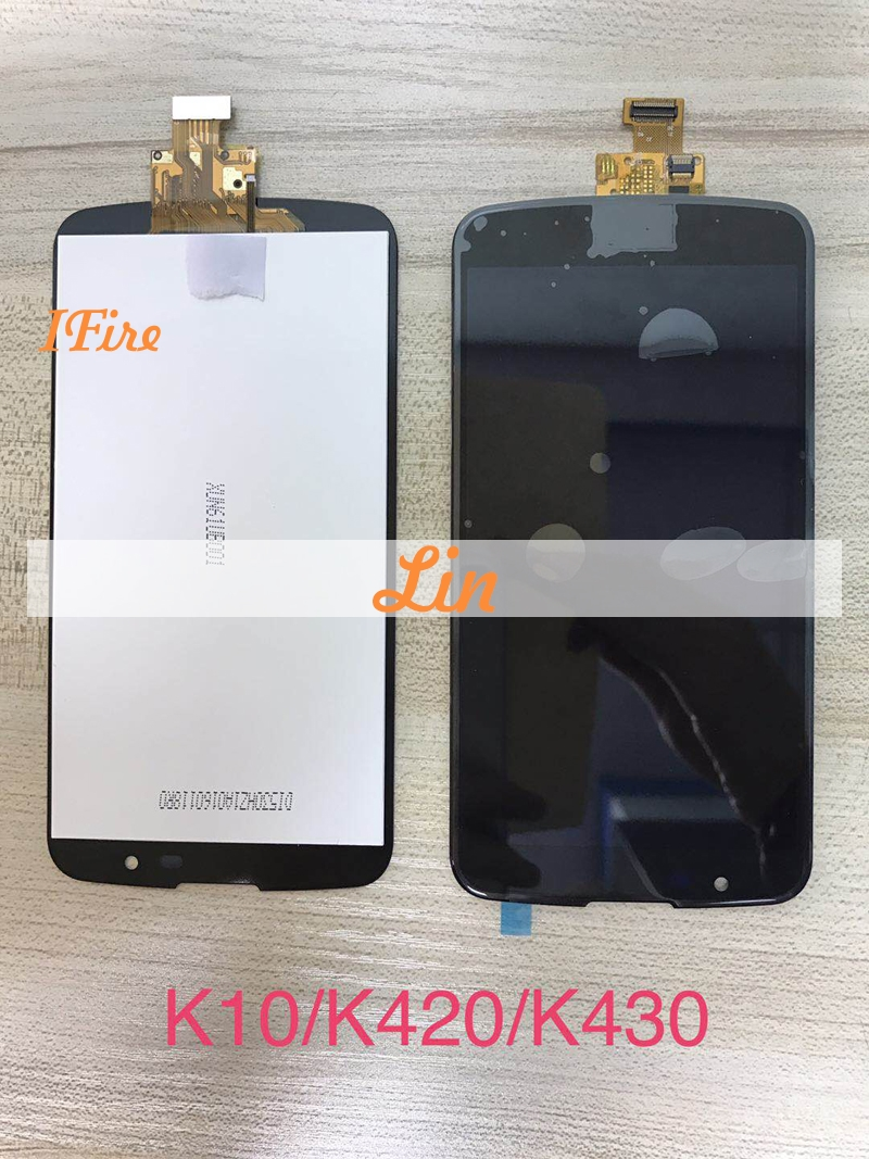 1pcs 5.3inch K10 lcd For LG K10 FOR LG K10 K430 K430DS K420N K410 K410TV LCD Display Touch Screen Digitizer Assembly with tools
