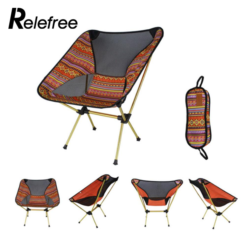 Practical Folding Stool Practical Oxford Cloth Outdoor Camping Chair Portable 3color Camping Durable Folding Chair Aluminum Alloy Hiking For Sale Fishing Chairs Sports & Entertainment