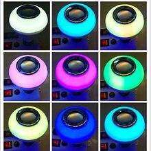 Красочные светильник лампочка Динамик bluetooth + пульт дистанционного