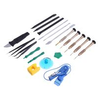 2017 New 20 in 1 Screwdriver Spudger Repair Disassembly Tools Kit For IPhone 6/7/8/X Professional For IPhone Service Gadgets Kit