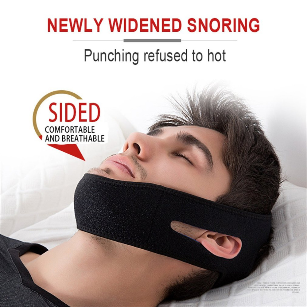 1Pc Men Women Anti Snore Chin Strap For Stop Snoring Body -7909