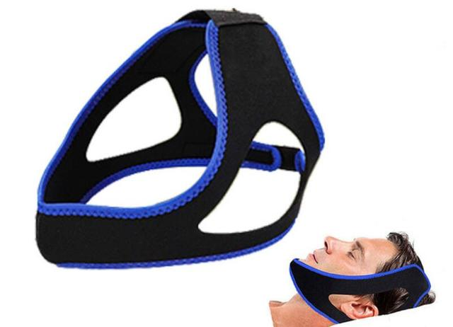 Neoprene Anti Snore Chin Strap Belt Anti Apnea Jaw Solution Snore Stopping Sleeping Aid Tools Cpap Anti Snore Mask Stretch 2
