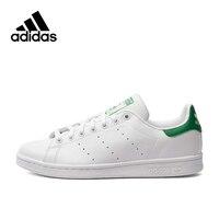 Adidas Originals Для мужчин Стэн Смит Скейтбординг обувь, новое поступление кроссовки Classique туфли на платформе дышащая