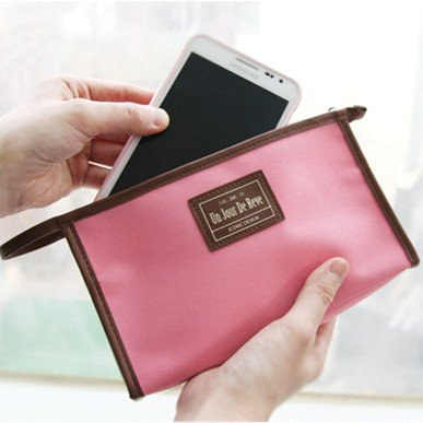 Korea multifunctional package incorporating a mobile phone high quality 10pcs/lot 20*11*4cm free shipping