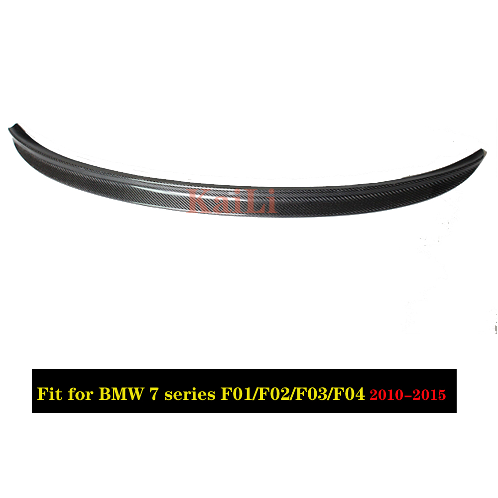 For BMW 7 Series F01 F02 F03 F04 Rear Trunk Spoiler Wing Tail Lip Sedan 750i 760i 2010 2015 in Spoilers Wings from Automobiles Motorcycles