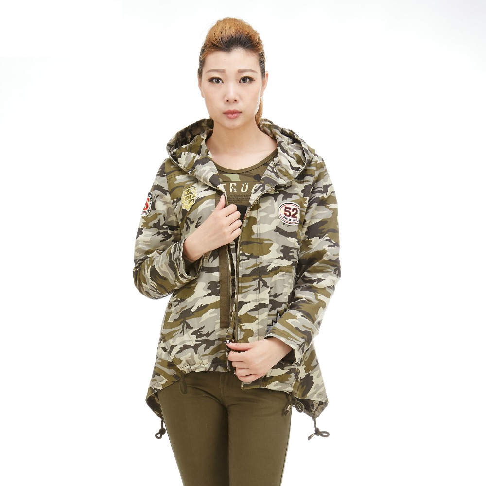 Outdoor Women's Trekking Tactical Jacket  New Camouflage Cotton Training Camping Jackets Tactical Military Combat Winter Jackets