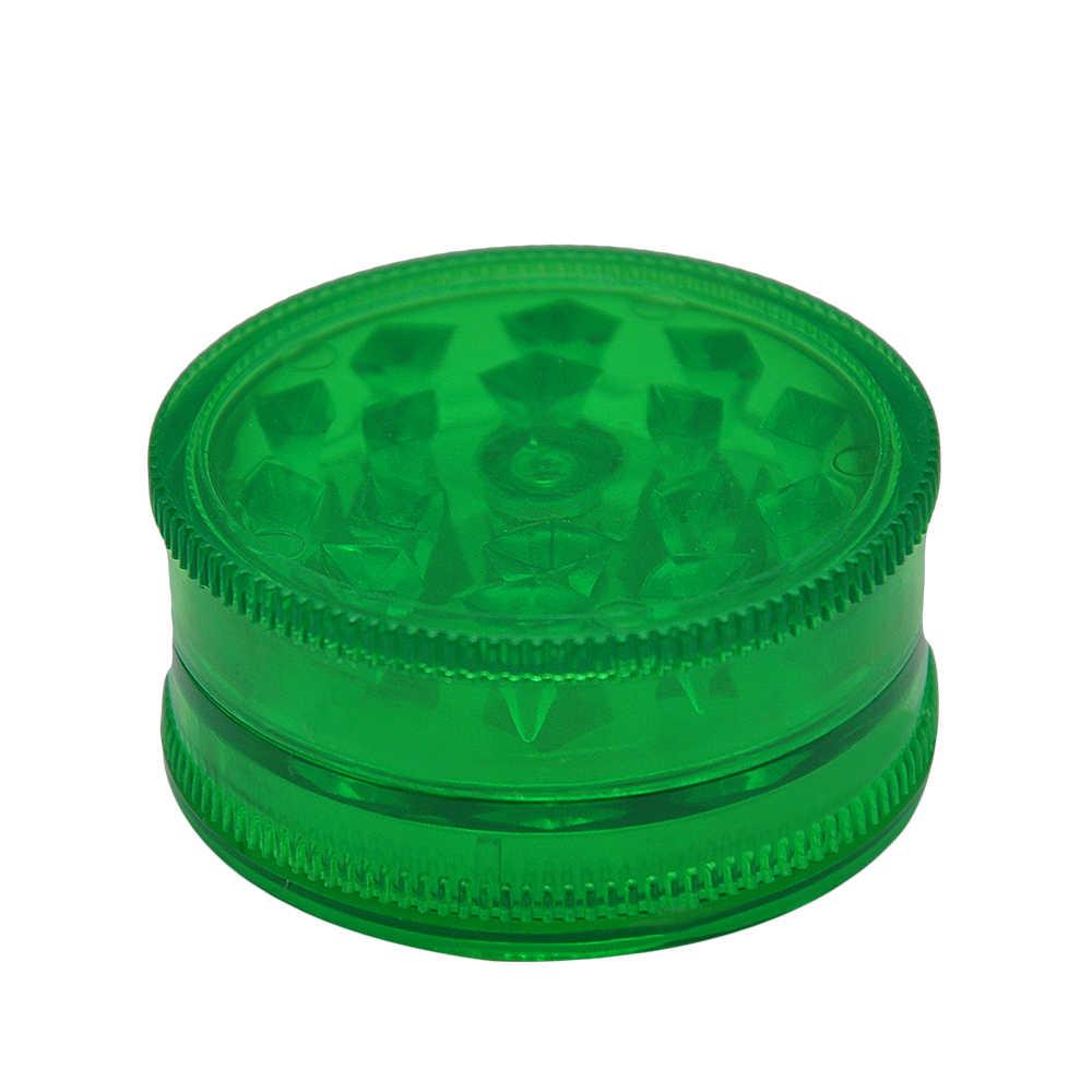 [HORNET] Dia.42MM 3 warstwy plastikowe przenośne zioła kruszarka do tytoniu młynek-3 części młynek do ziół