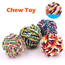 4pcs/lot Pet Toy  Tooth Cleaning Cotton