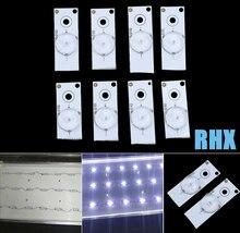 50pcs  3V  6V  SMD Lamp Beads with Optical Lens Fliter for LED Strip Bar,Repair TV  100%NEW