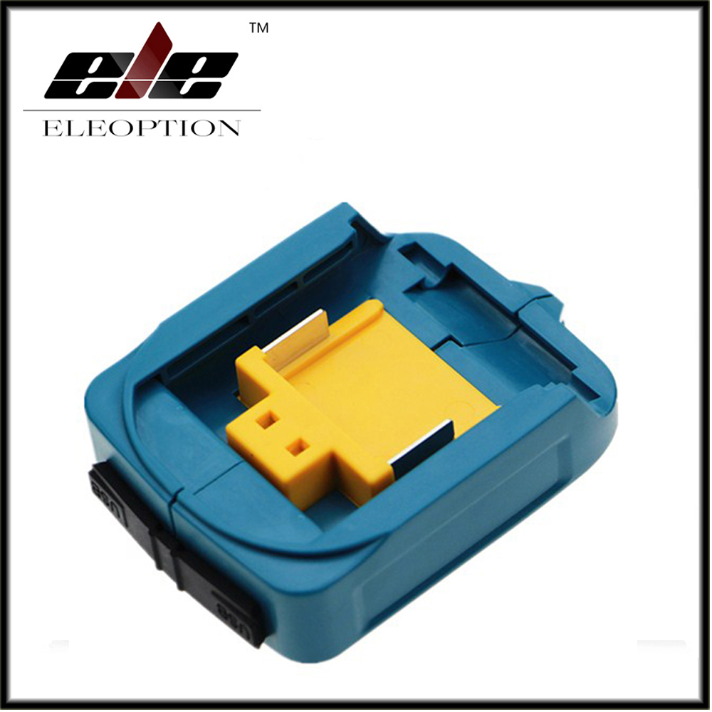 DEAADP05 USB Power charger adapter converter and Devices Charger compatible for Makita <font><b>18V</b></font> 14.4V Lithium-Ion battery image
