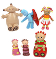 6Pcs/Set ABS Plastic Newborn Educational Toys In The Night Garden Children Toy Figure Garden Rattle Toy