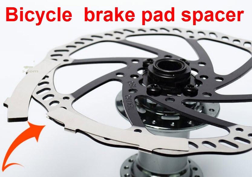 5x Fahrrad Scheibenbremsbeläge Bike Pads Spacer Rotor Ausrichtung Werkzeug Radsport