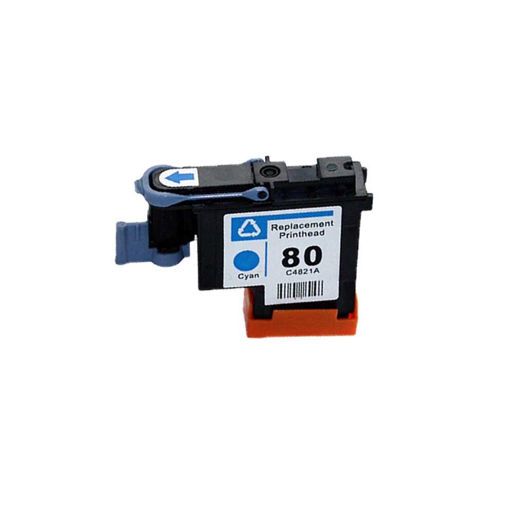 JH C4820A C4821A C4822A C4823A Printhead untuk HP 80 Designjet 1000 1050C 1055 Ink Cartridge Print Head untuk HP 80 Cartridge