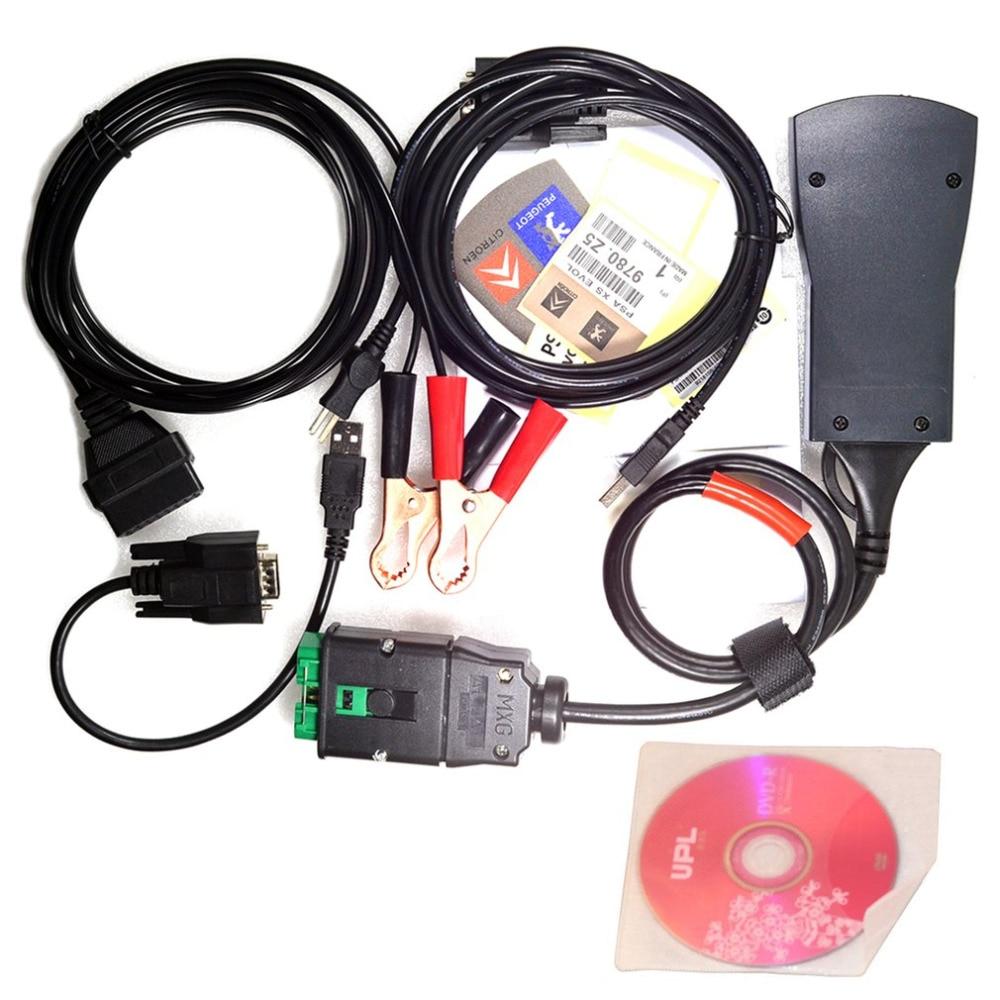 PP2000 Lexia 3 OBDII OBD2 Diagbox дате V7.83 автомобильной диагностическое приспособление для двигателя для Citroen peugeot автомобиля