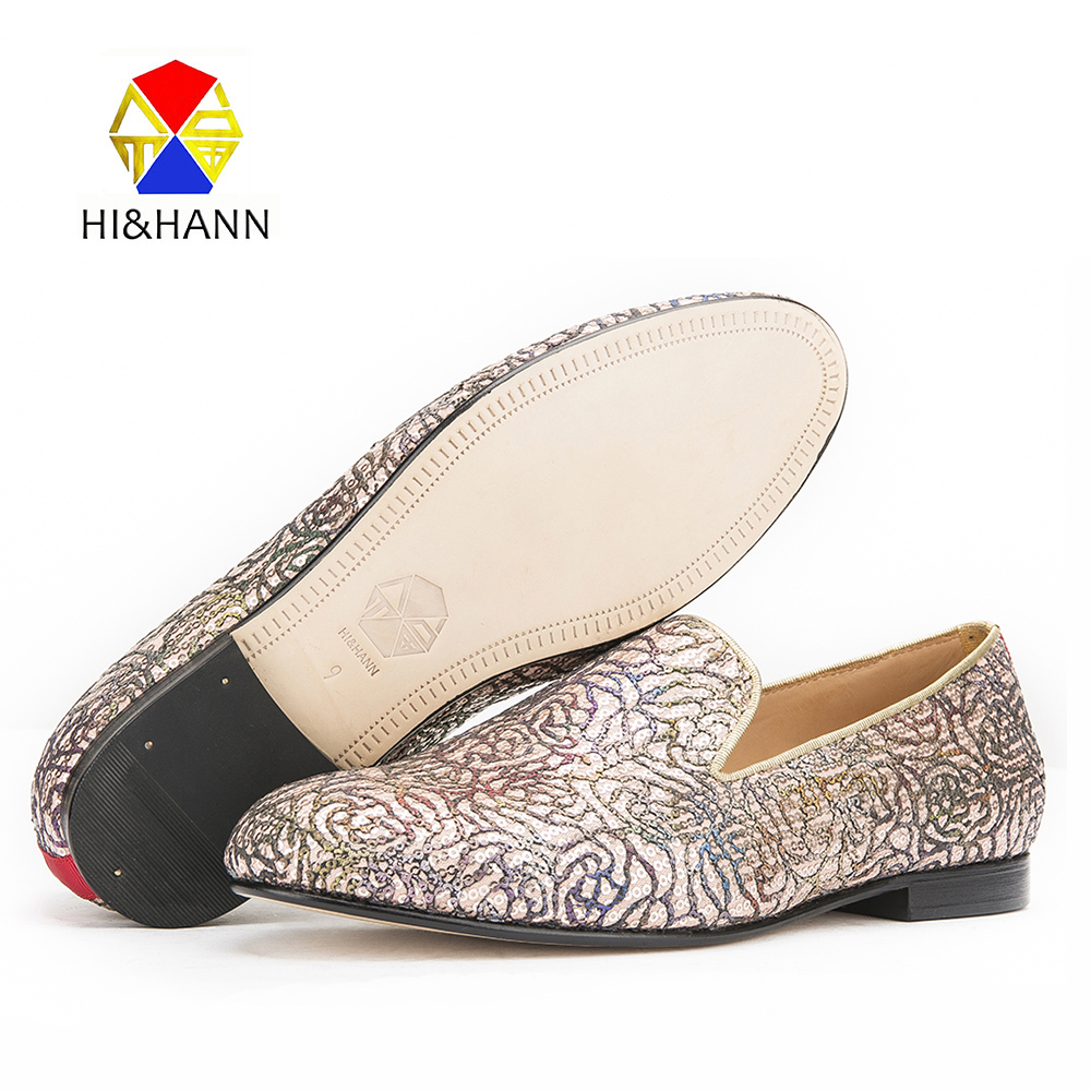 2017 New arrival Luxurious and Colorful flowers design Men handmade loafers British style Wedding and Party men smoking slippers korean style different flowers and plant of 50 chinese embroidery handmade art design book
