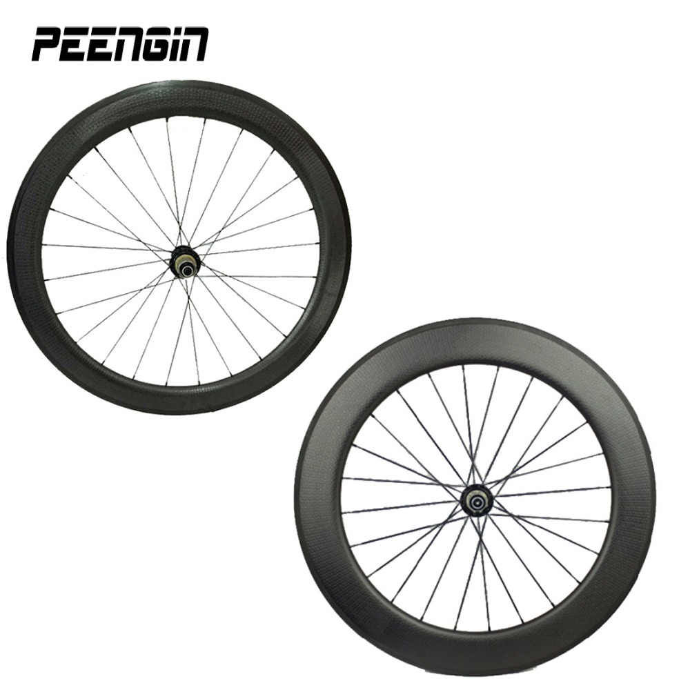 Carbon dimple mixed clincher wheel 25mm width 50&80mm front rear tubular road bike wheelset new style bicycle aero rim OEM decal 700c road bike dimple carbon rims dimple carbon wheels 58mm depth 25mm width carbon wheelset 20 24h wheelset parts bicycle wheel