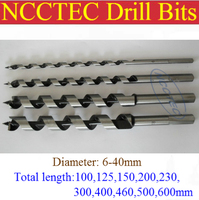 [40*880mm length] 40mm diameter wood screws drill bits | 1.6'' * 35'' woodworking Spiral drill tools spiral fluted wood auger