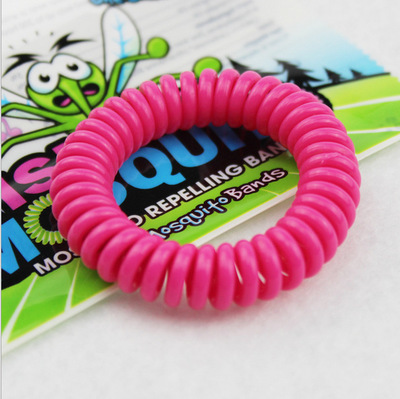 2016 Summer Hot Brand New Natural Plant Oils Phone Strap Elastic Mosquito Repellent Hand Ring Coil Mosquito Repellent Bracelet