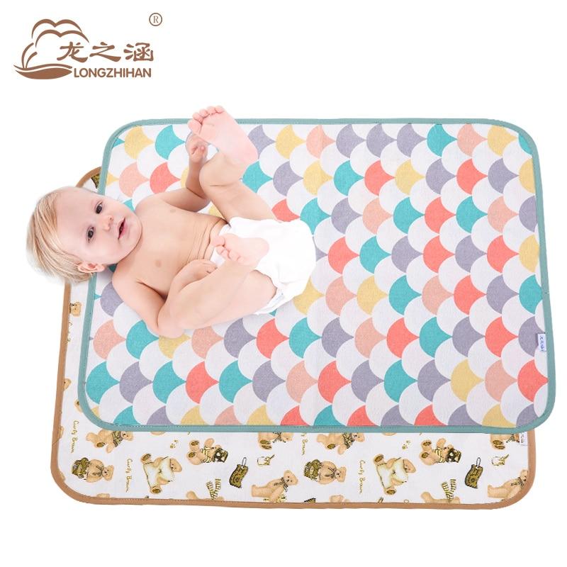 Waterproof Mattress protector baby diaper changing pad Newborn baby nappy changing mat waterproof sheet muda fraldas urine mat