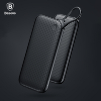 Baseus 20000mAh 5V3A Quick Charge 3 0 USB Power Bank For IPhone X 8 7 6