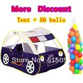 Child Gift Promotion Car Clild Tent + 50 Ocean Balls Kids Game House 5.5 cm Wave Balls Indoor And Outdoor Play Tent ZP5003