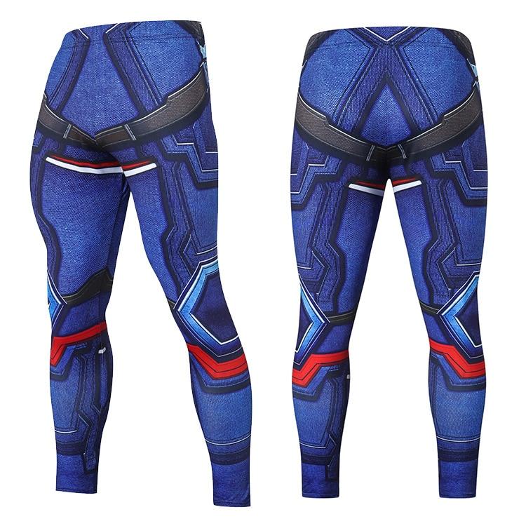2019 Compression Pants Running Tights Men Training Pants Fitness Streetwear Leggings Men Gym Jogging Trousers Sportswear Pants 33