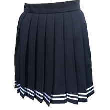 Multi color Japanese high waist pleated skirts JK student Girls solid pleated skirt Cute Cosplay school