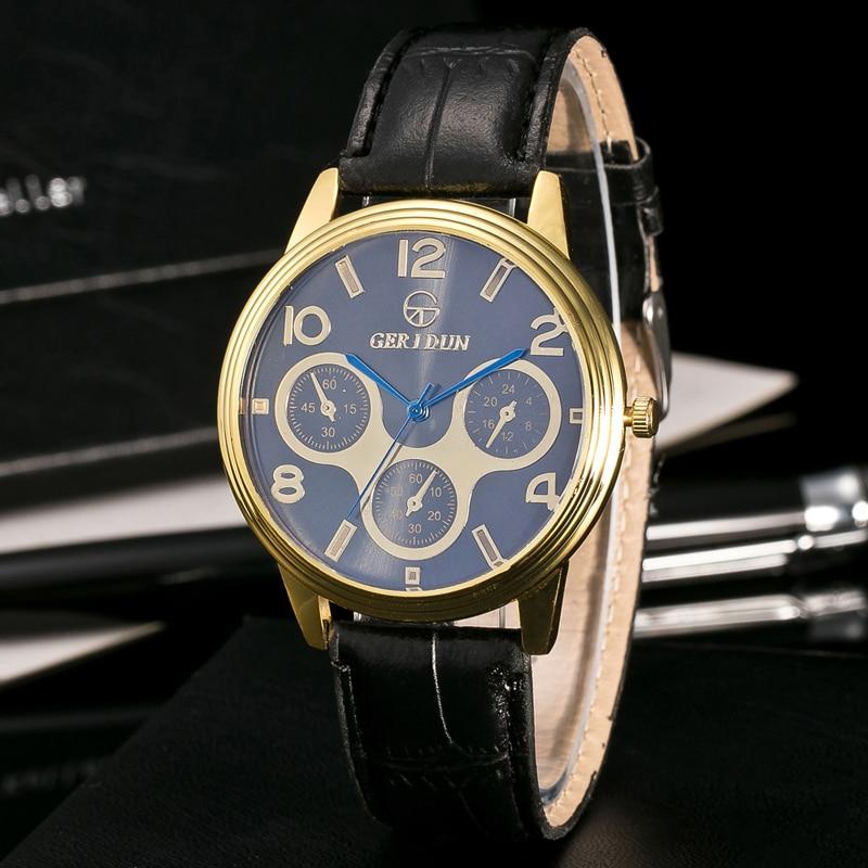 2017 Fashion Chronograaf Sport Heren Horloges Topmerk Luxe Militaire - Herenhorloges - Foto 2