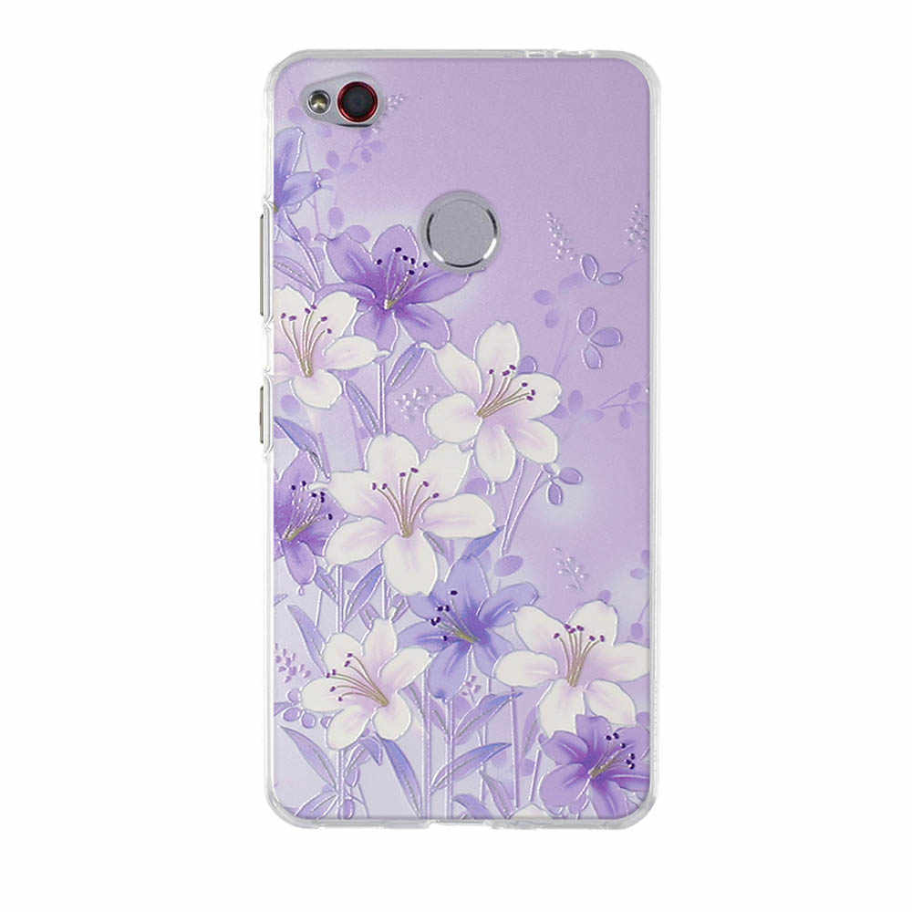 Para ZTE nubia N1 Funda de teléfono ultrafina suave TPU silicona para ZTE nubia N1 N 1 Funda 3D Floral con estampado para ZTE N1 Funda Coque