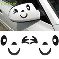 Tiptop NEW 4 Colors Smile Face Design 3D Decoration Sticker For Car Side Mirror Rearview Free Shipping L607