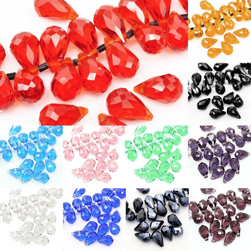 145pcs 4mm Crystal Rondelle Glass Beads Diy Jewellery Making For Bracelet Necklace Center Drilled 18 Color Beads & Jewelry Making