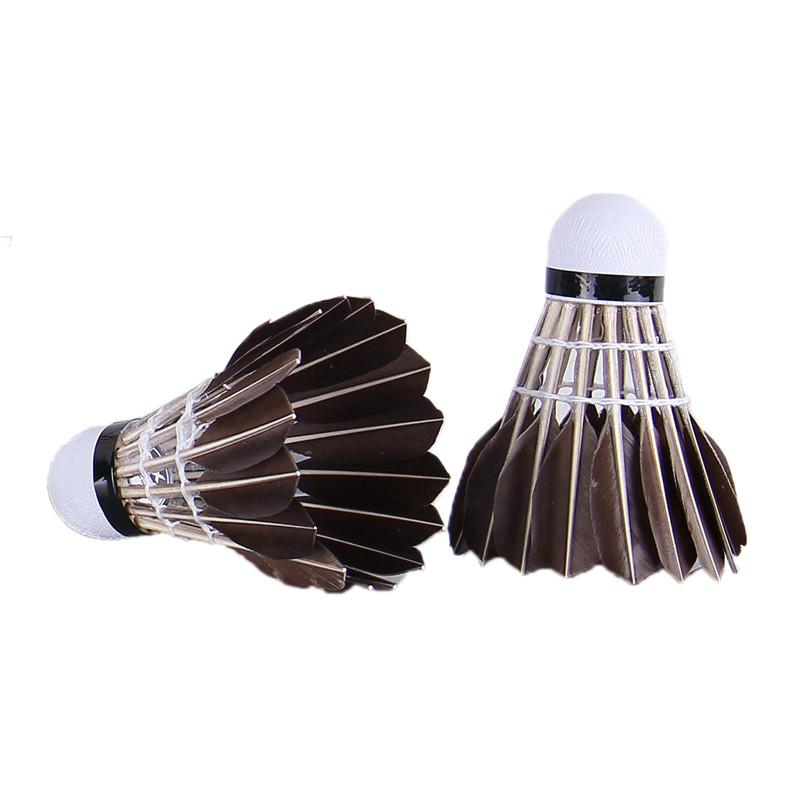 Weitere Ballsportarten Badminton 5pcs Game Sport Training Duck Feather Shuttlecock Birdies Badminton Ball Km