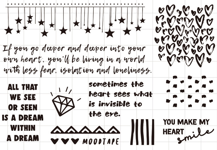 YPP CRAFT My Heart Transparent Clear Silicone Stamp/Seal for DIY scrapbooking/photo album Decorative clear stamp sheets about lovely baby design transparent clear silicone stamp seal for diy scrapbooking photo album clear stamp paper craft cl 052