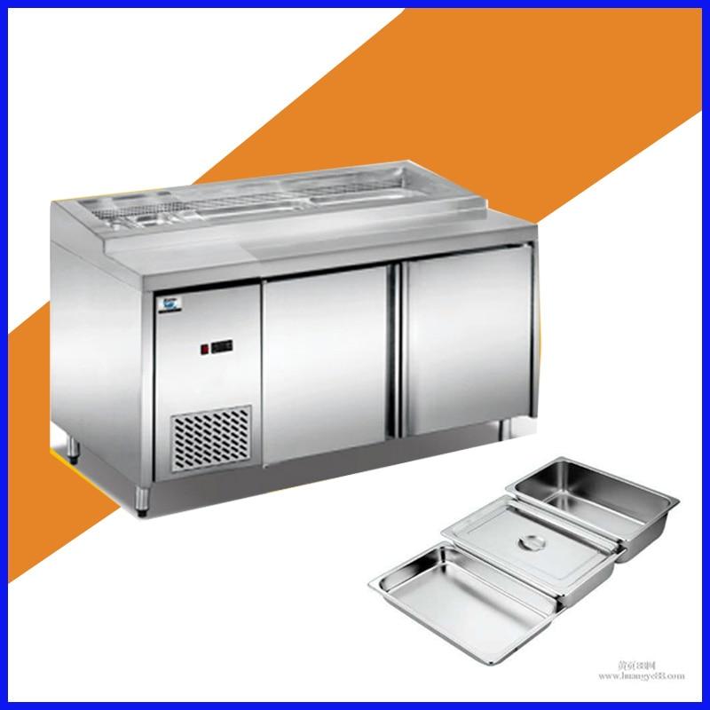 Salad Bar Refrigerator Automatic Door
