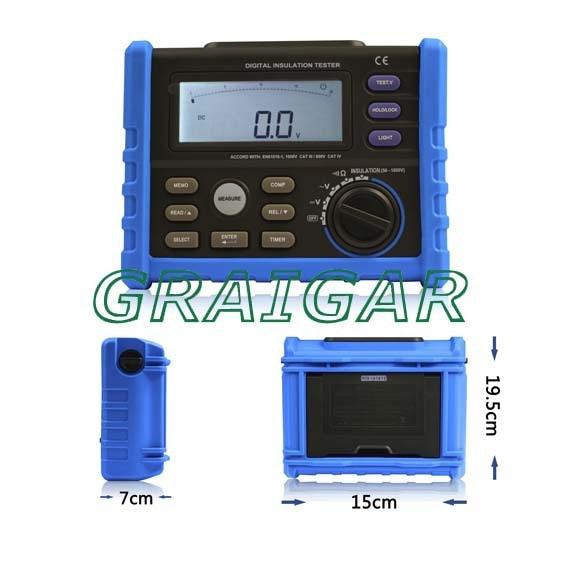 AIM01 50-1000V DIGITAL INSULATION TESTER