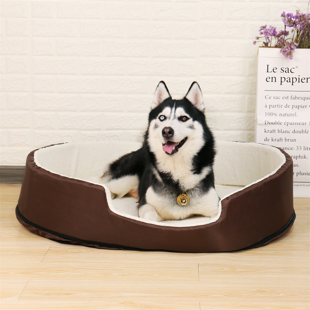 Dog Beds for Small Large Dogs Solid Pet Kennels Beds Round