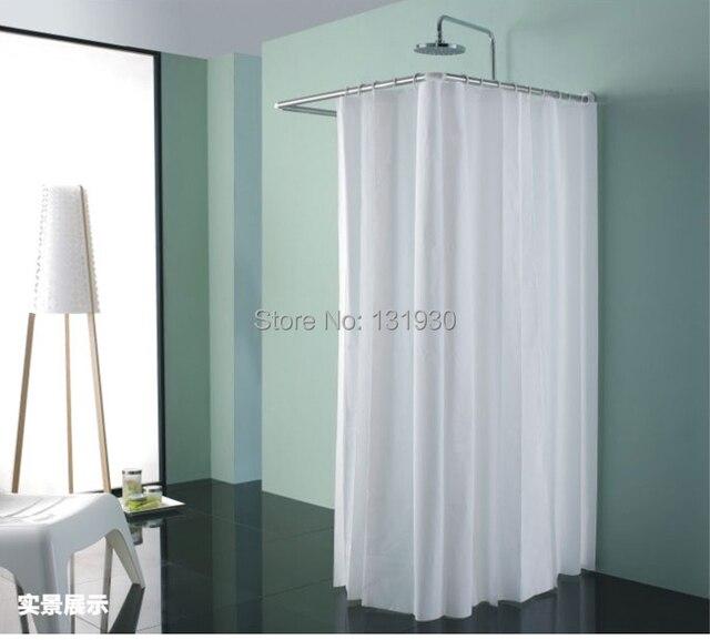 Curtains Ideas curtain rod suppliers : Aliexpress.com : Buy Stainless steel shower curtain rod U shape ...