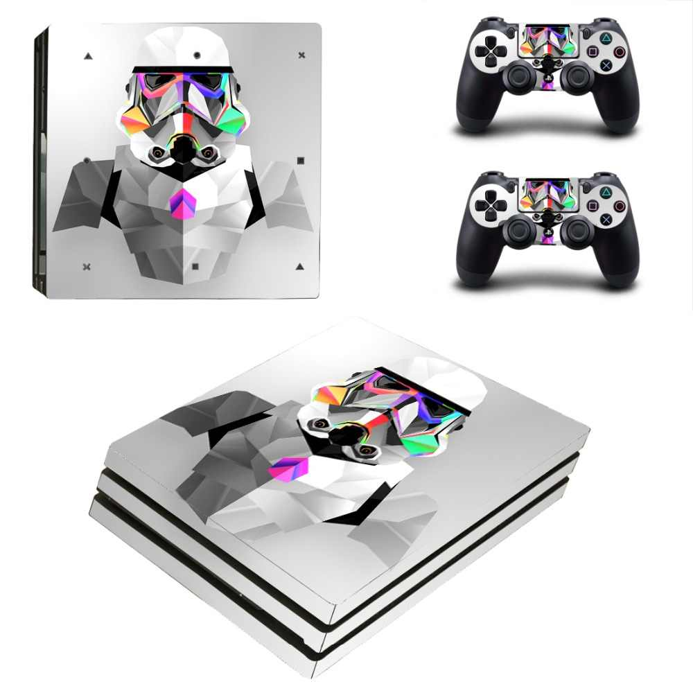 Film Star Wars Darth Vader PS4 Pro Skin Sticker Decal for PlayStation 4 Console and 2 Controller PS4 Pro Skin Sticker Vinyl