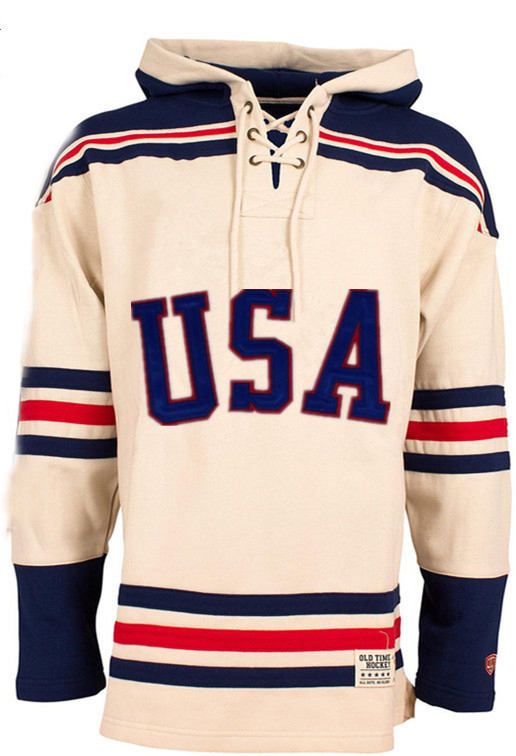 цена на Hockey Jersey Hoodies 1980 Miracle On Team Usa Ice Hockey Jerseys Custom Any Name Any Number Stitched Hoodie Sports Sweater