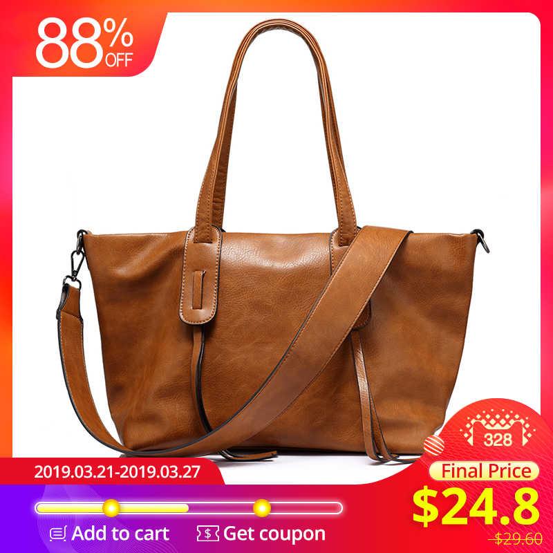8889353cc9 L'AMOUREUX marque de mode sac à main des femmes grande capacité décontracté  sac fourre