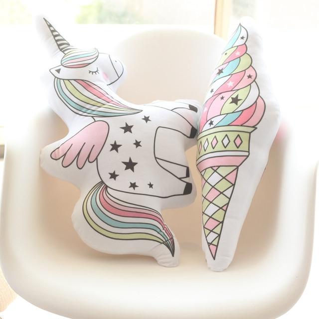 Creative and Cute Shape Cushion with Inner Stuffed