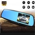 2.8 Polegada 1080 P LCD Car Estacionamento Monitor Espelho Retrovisor Do Carro DVR Traço Camera Video Recorder Night Vision Para câmera de Visão Traseira câmera