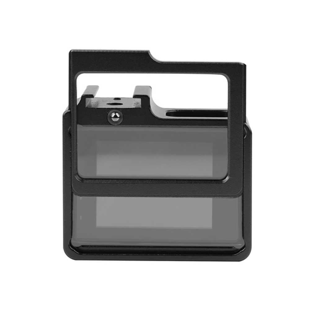 Снимать Алюминий сплав Защитный чехол металлический каркас объектива Крышка УФ-фильтра фильтр для SJCAM SJ4000 SJ 4000 WI-FI SJ6000 SJ7000 H9 аксессуар