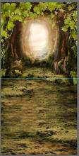 Thick canvas fantasy forest photo backgrounds fairy photography backdrops for photo studio props camera fotografia F-2858