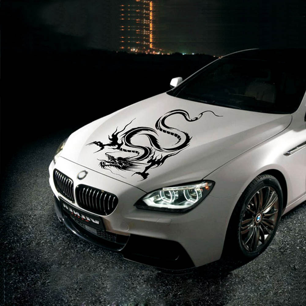 Car Hood Body Graphic Wrap Vinyl Stickers And Decals
